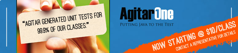 AgitarOne - Putting Java to the Test